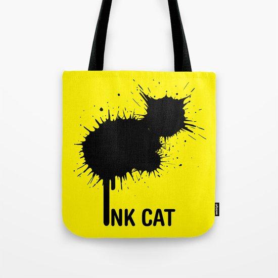 INK CAT Tote Bag