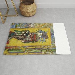 """Vincent van Gogh """"The Courtesan (after Eisen)"""" Rug"""