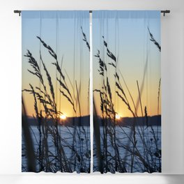 Sunset Sea Grass Blackout Curtain