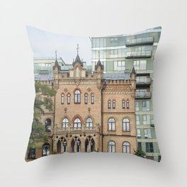 Old & new Throw Pillow