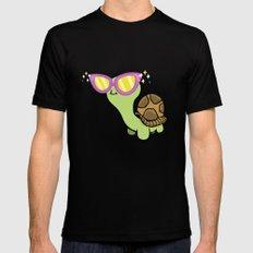 Fabulous Turtle! Black Mens Fitted Tee MEDIUM