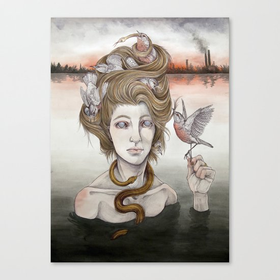 The Last Gorgon Canvas Print