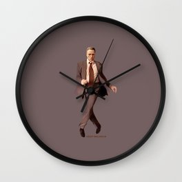 Keep Walken Wall Clock