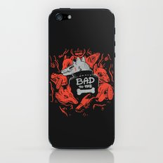 Bad To The Bone iPhone & iPod Skin