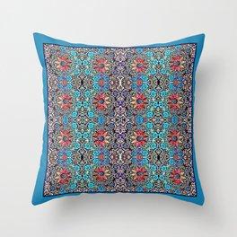 A Southwestern Garden Throw Pillow