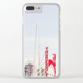 Coney Island Amusement Clear iPhone Case