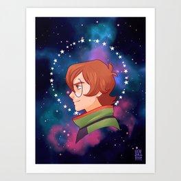 The Green Paladin - Pidge Art Print