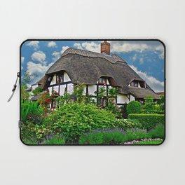 Quaint English Cottage Laptop Sleeve
