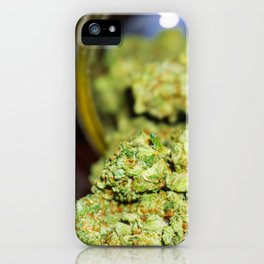 Green goodness iPhone Case