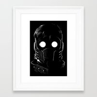 starlord Framed Art Prints featuring Starlord by John Amor
