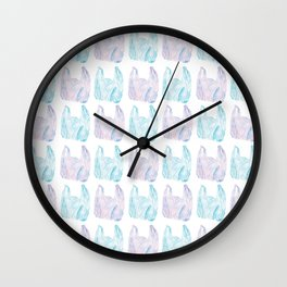 Bag Lady Wall Clock