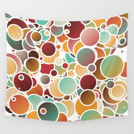 Assorted bubbles Wall Tapestry