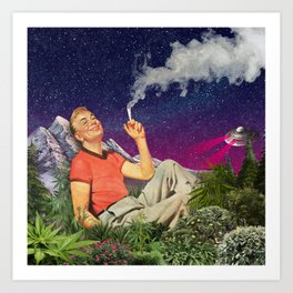 Relaxing Time Art Print