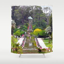 PARADISE - FRENCH RIVIERA Shower Curtain