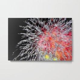 Fireworks Burst Metal Print