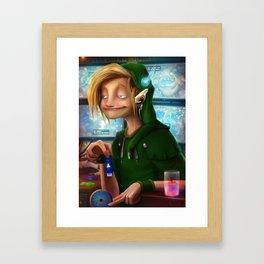 HYRULE CORP. Framed Art Print