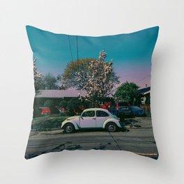 buggin Throw Pillow