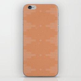 Southwestern Minimalist Terra Cotta  iPhone Skin