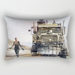 Fury Road truck Rectangular Pillow