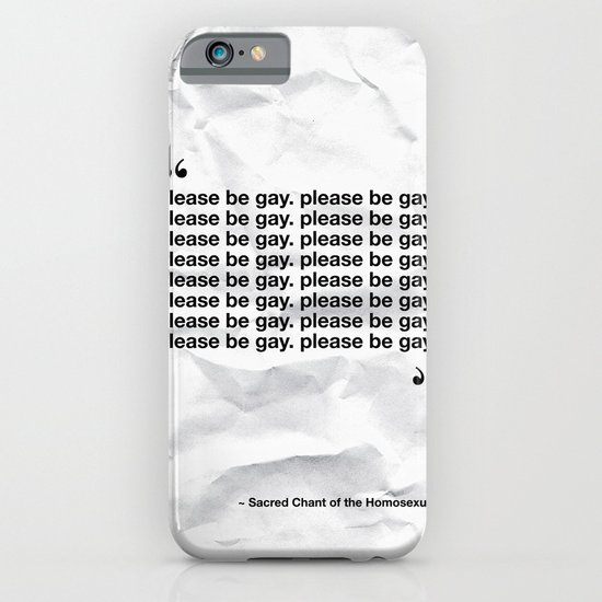 The Sacred Chant of the Homosexual iPhone & iPod Case