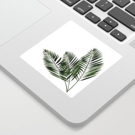 Tropical Exotic Palm Leaves I Sticker