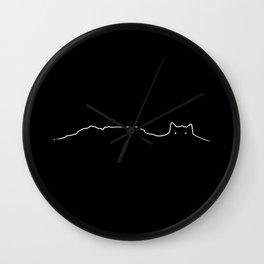 Table Mountain Lion's Head Cape Town Wall Clock