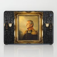 fashion illustration iPad Cases featuring Bill Murray - replaceface by replaceface