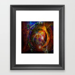 Time Eclipses All Framed Art Print