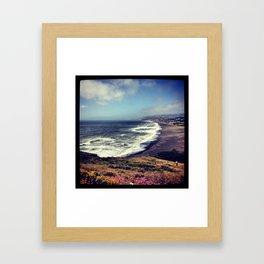 My View Framed Art Print