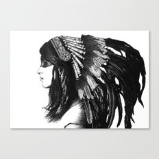 Indian Canvas Print