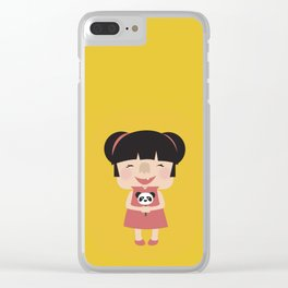 Hello how are you (Yellow Tales Series) Clear iPhone Case