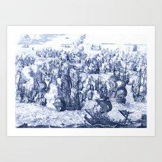 Naval Conquest Art Print