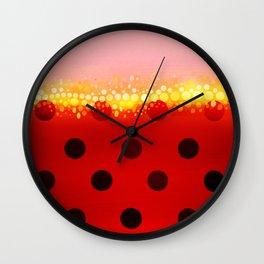 miraculous ladybug designs 1/2 Wall Clock