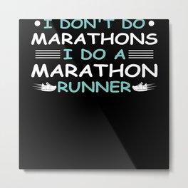 Marathon Metal Print