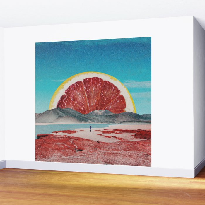 Grapefruit Beach Wall Mural