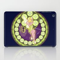 tinker bell iPad Cases featuring Tinker Bell by NicoleGrahamART
