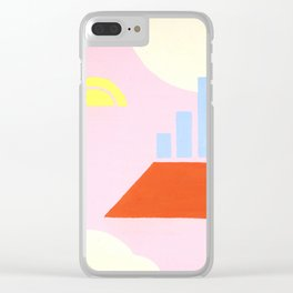 Brooklyn Rooftop Clear iPhone Case