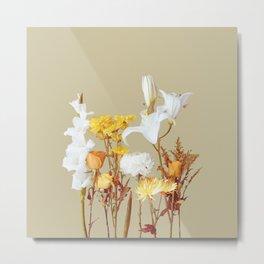 Autumn Floras Metal Print