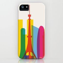 Shapes of Tokyo. Accurate to scale. iPhone Case