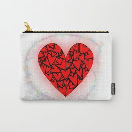 Love Heart With Pixie Dust Carry-All Pouch