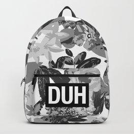DUH B&W Backpack