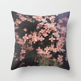 She Hangs Brightly Throw Pillow