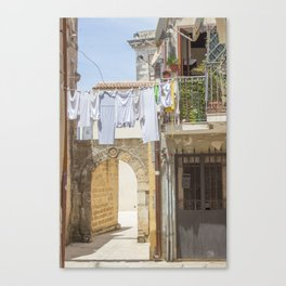 Laundry in Syracuse Canvas Print