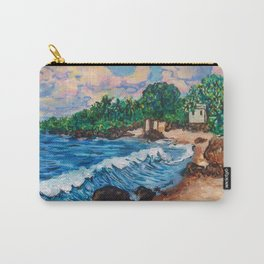 Hawaiian Beach Carry-All Pouch