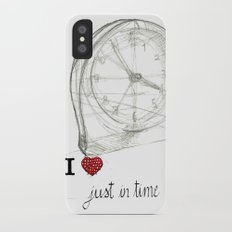 Just in time iPhone X Slim Case