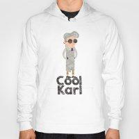 karl lagerfeld Hoodies featuring cool karl by sofiefatale