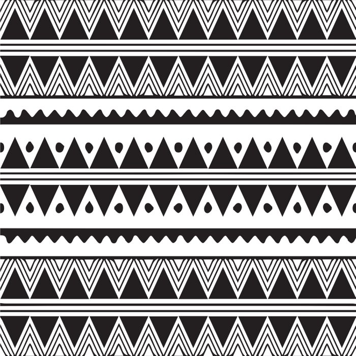African Tribal Pattern No. 2 Duvet Cover