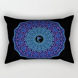 Tribal Dolphin Mandala Rectangular Pillow