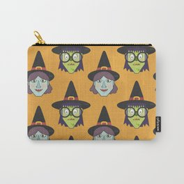 Good Witch VS Bad Witch (Patterns Please) Carry-All Pouch