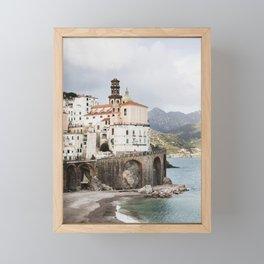 Amalfi Coast, Atrani Framed Mini Art Print
